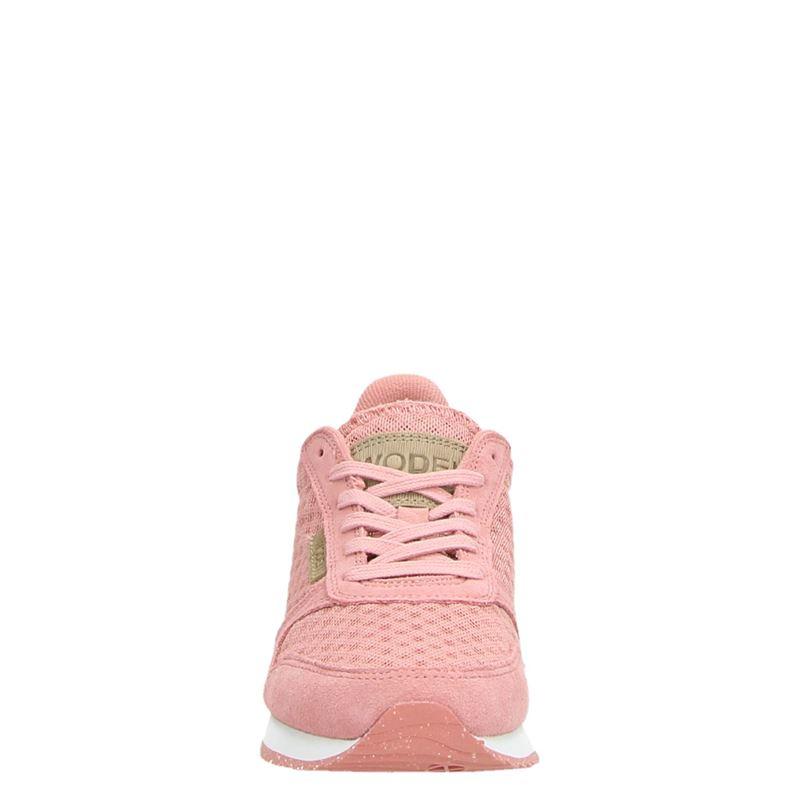 Woden Ydun - Lage sneakers - Roze