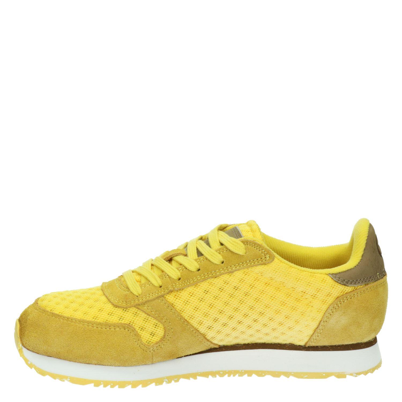 Woden Ydun - Lage sneakers voor dames - Geel xuedkql