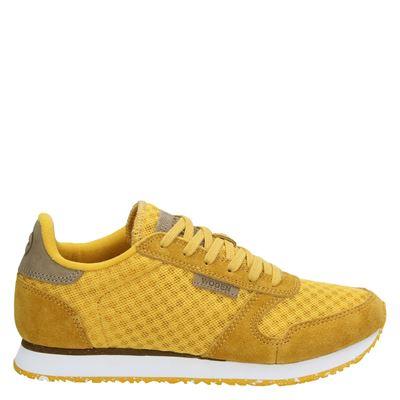 Woden dames sneakers geel