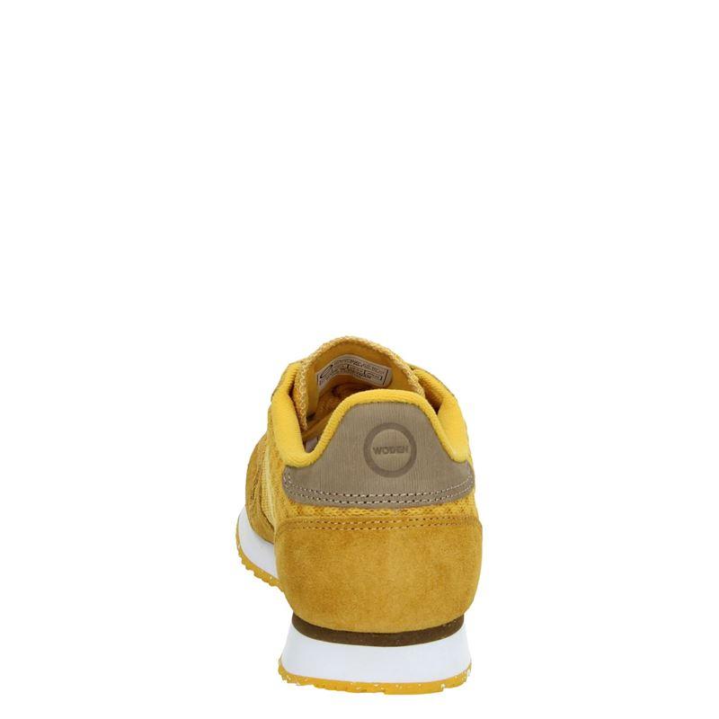 Woden Ydun - Lage sneakers - Geel