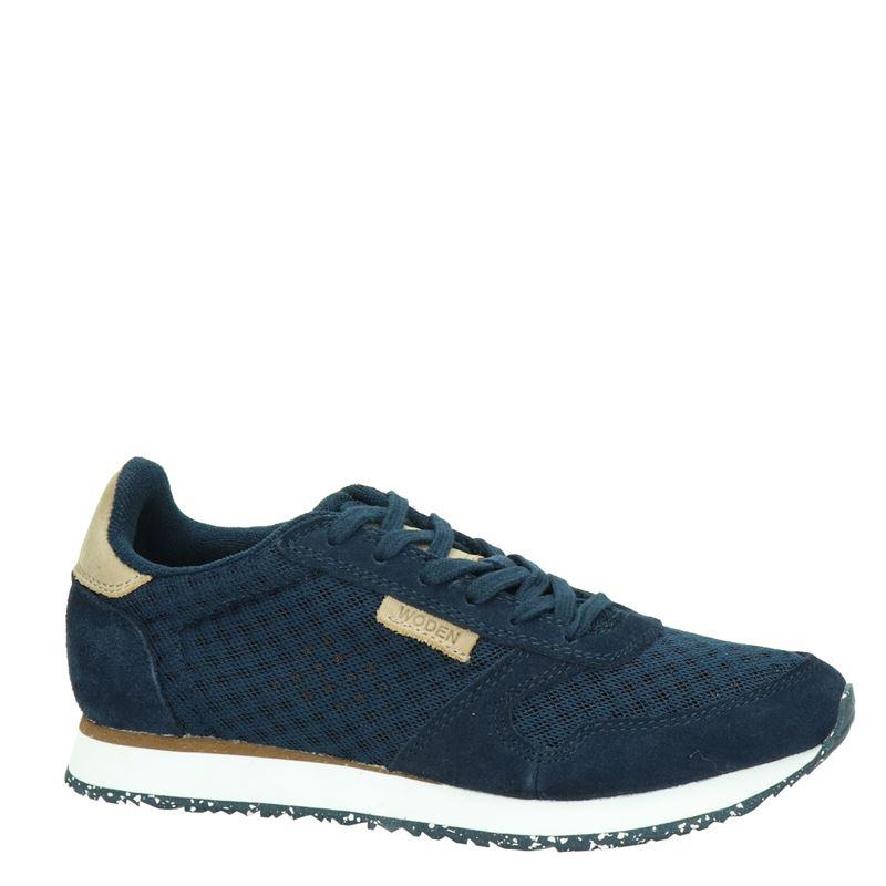 Woden Ydun - Lage sneakers - Blauw