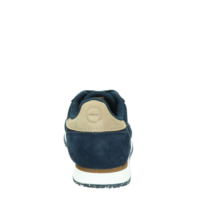 Woden Ydun - Lage sneakers voor dames - Blauw TCLrCiD