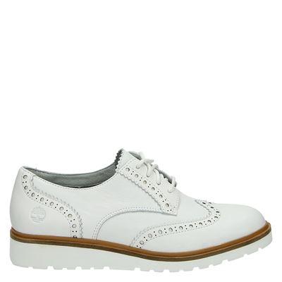 Timberland dames veterschoenen wit