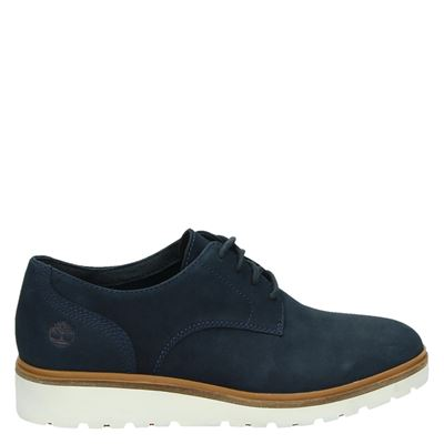 Timberland dames veterschoenen Blauw