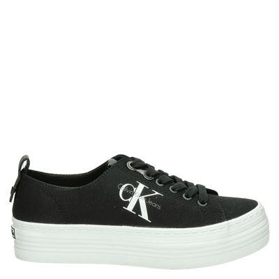 Calvin Klein dames platform sneakers zwart