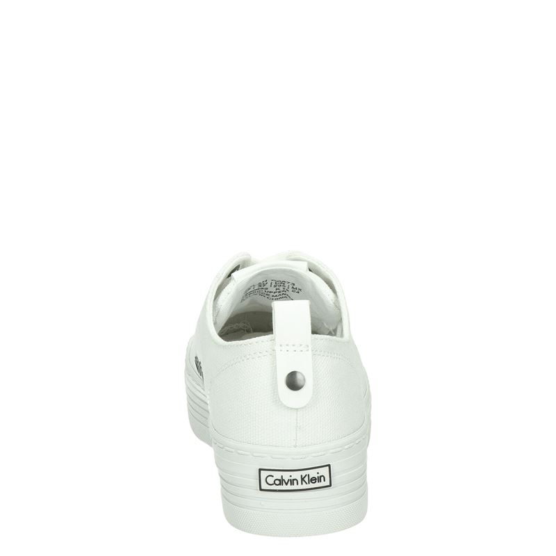 Calvin Klein Zolah - Platform sneakers - Wit