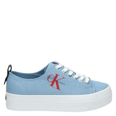 Calvin Klein dames sneakers blauw