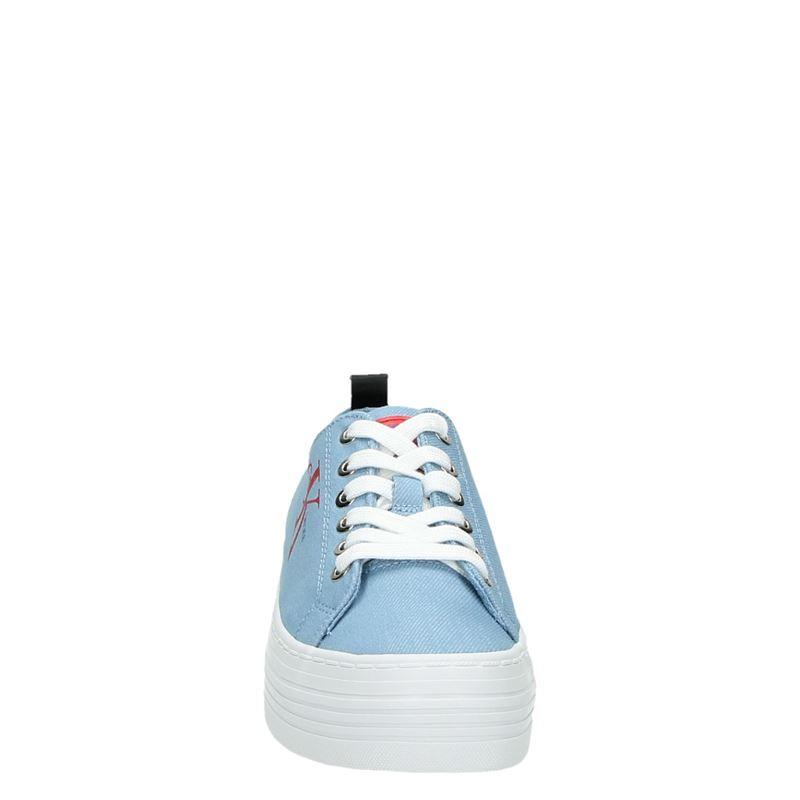 Calvin Klein Zolah - Platform sneakers - Blauw