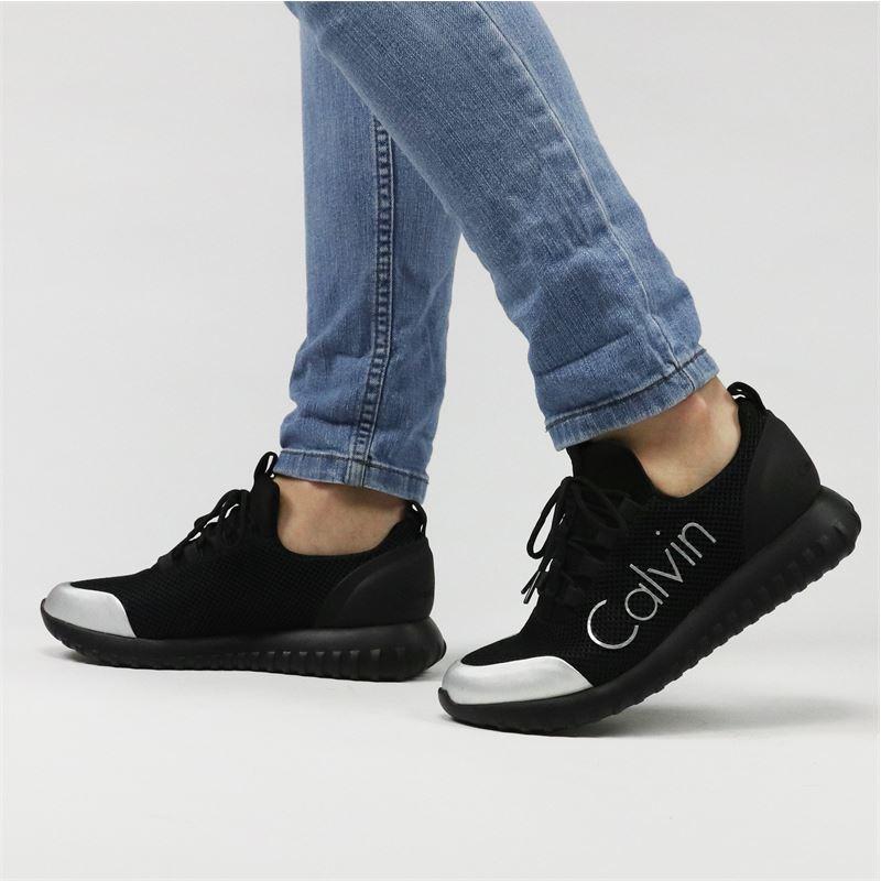 Calvin Klein Reika - Lage sneakers - Zwart