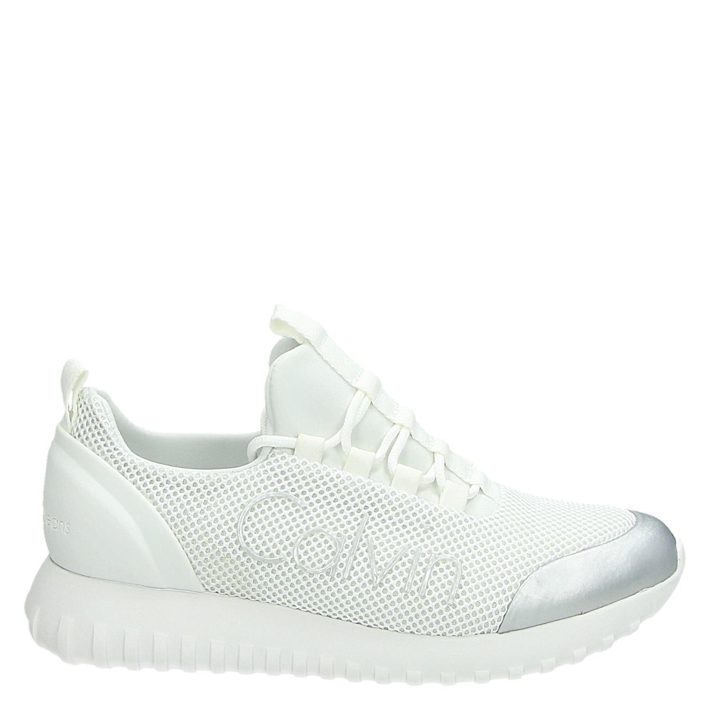 Calvin Klein Baskets Femmes (blanc) uICCoW