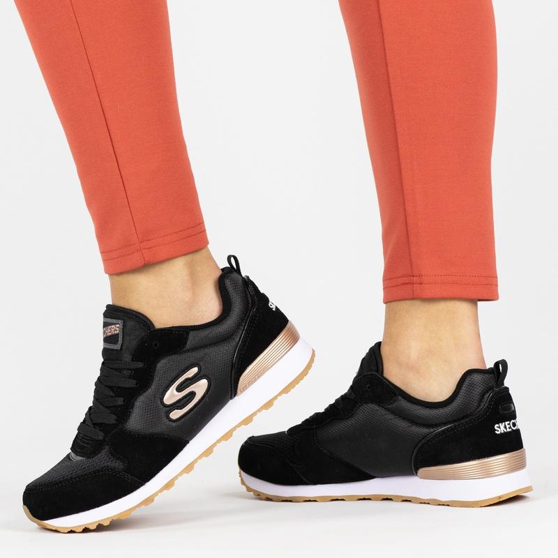 Skechers Originals - Lage sneakers - Zwart