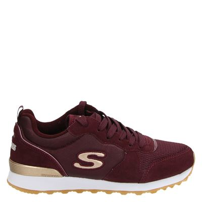 Skechers dames sneakers rood