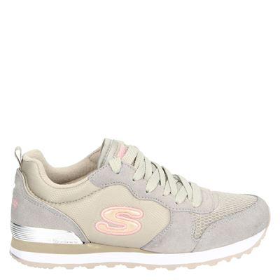 Skechers dames sneakers beige