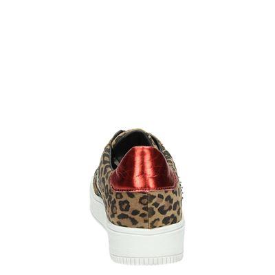 PS Poelman dames lage sneakers Bruin