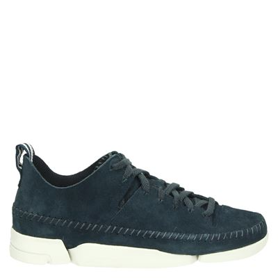 Clarks Originals dames sneakers blauw