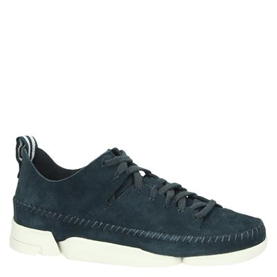 Clarks Originals dames lage sneakers Blauw