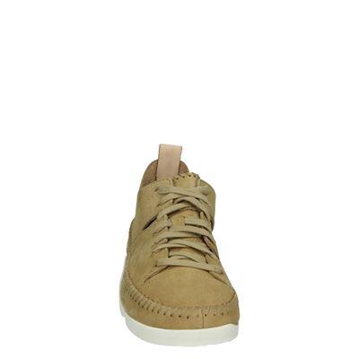 Clarks Originals dames lage sneakers Beige