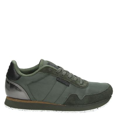 Woden dames sneakers groen