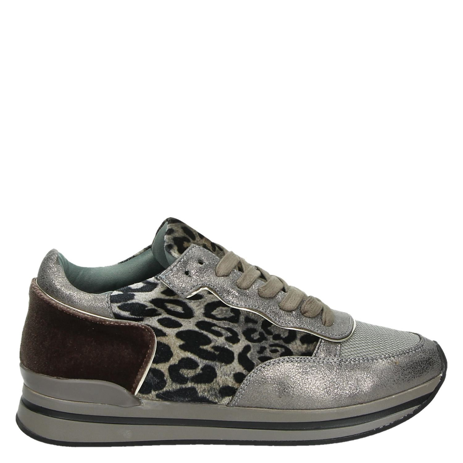 La Strada Faire Baskets Taupe 7YtDyZQF
