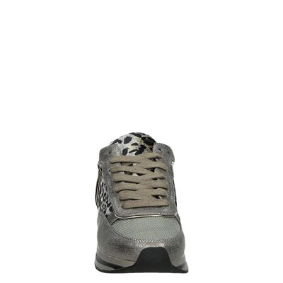 La Strada dames lage sneakers Taupe