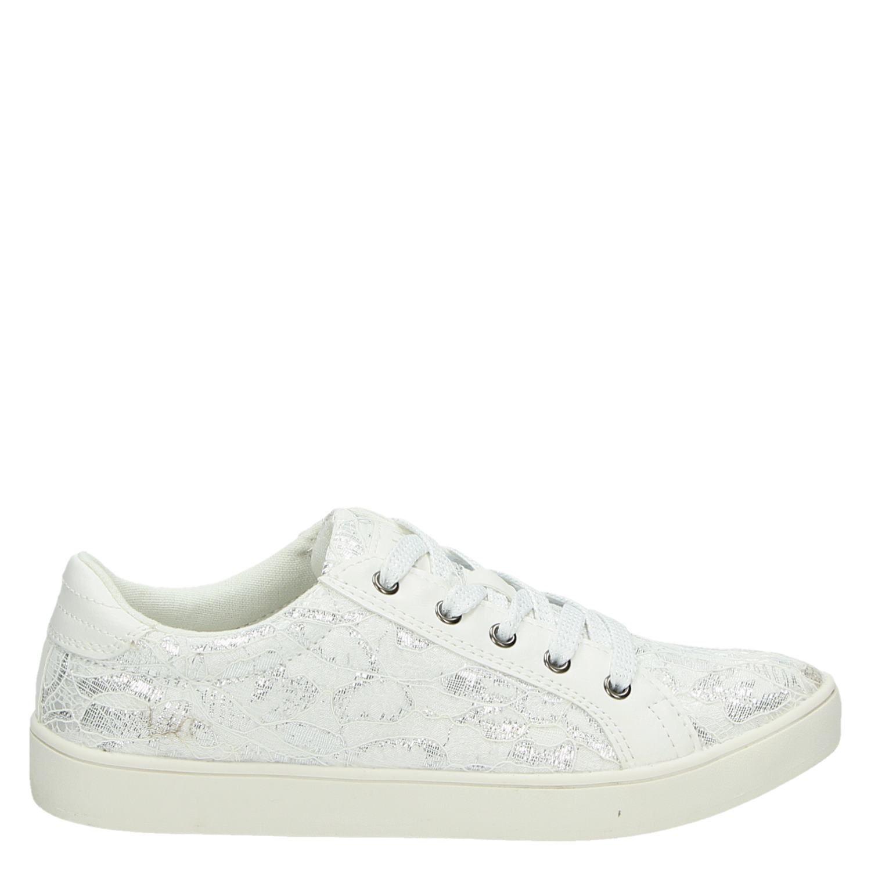 Hobb's Lage Hobb's Dames Dames Wit Sneakers qYRqO0Fx