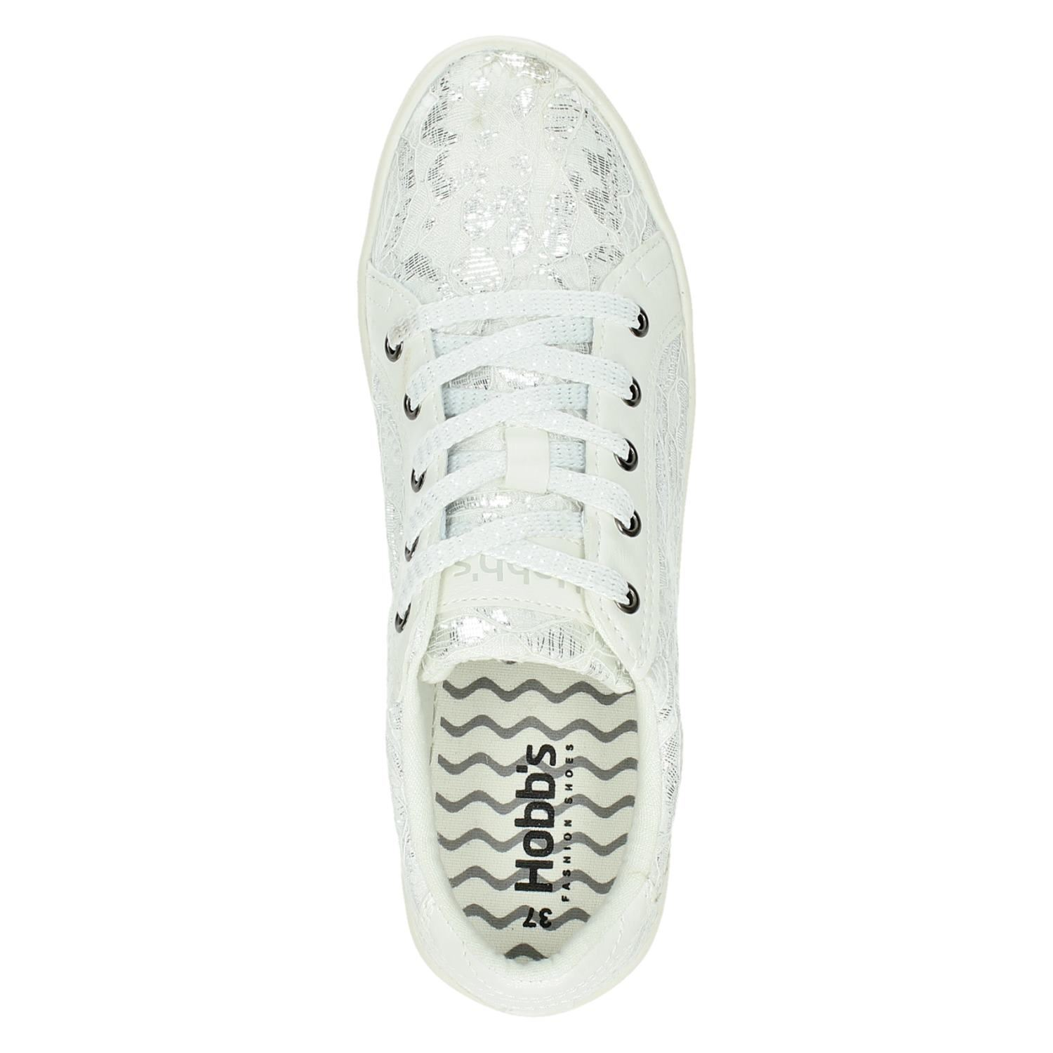 Lage Sneakers Dames Hobb's Wit Hobb's Lage Dames hQrdts