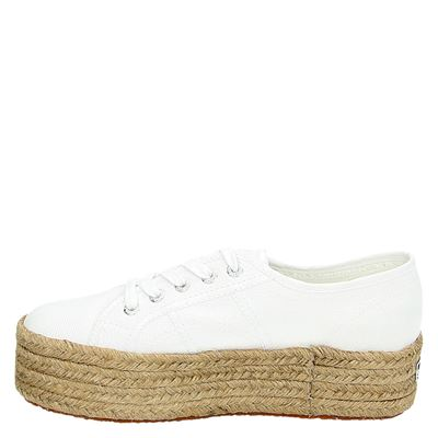 Superga dames veterschoenen Wit