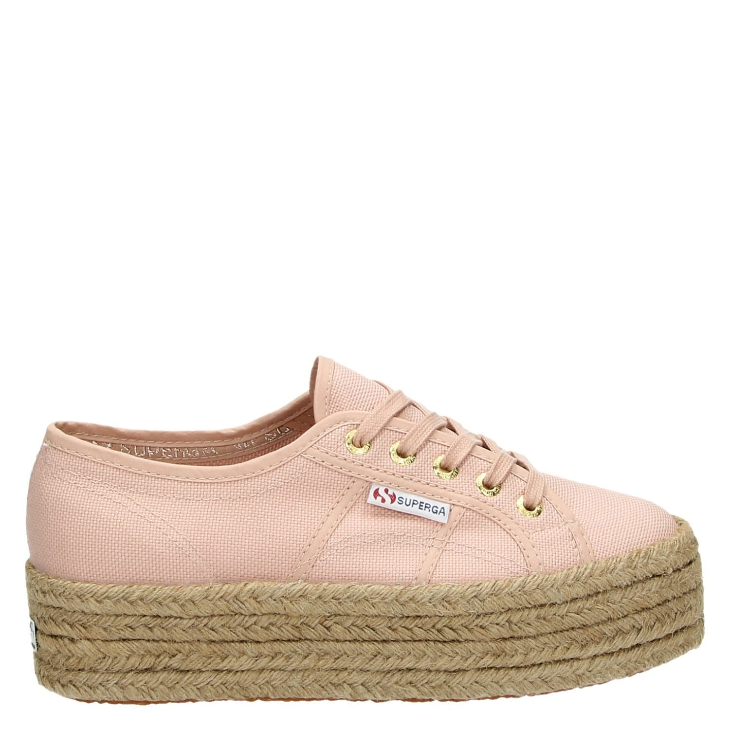 Baskets Superga Plate-forme Rose mnbX9fb