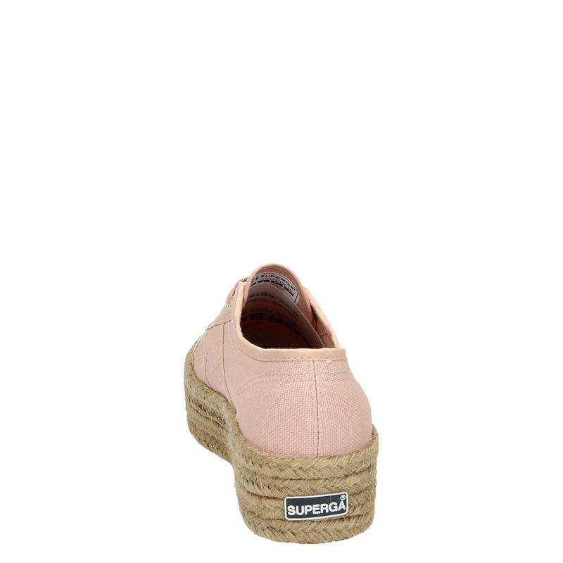 Superga Cotropew platform - Platform sneakers - Roze