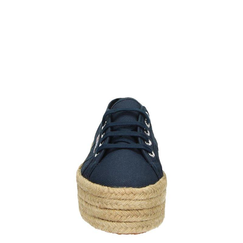 Superga Cotropew platform - Platform sneakers - Blauw