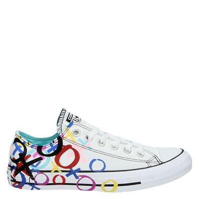 Converse dames lage sneakers wit
