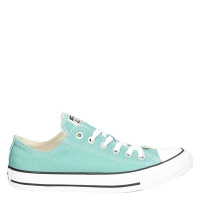 Converse dames lage sneakers groen