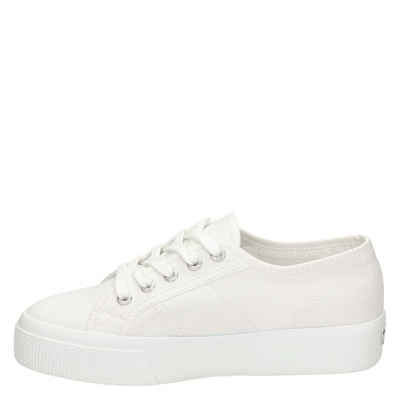 Superga dames lage sneakers Wit