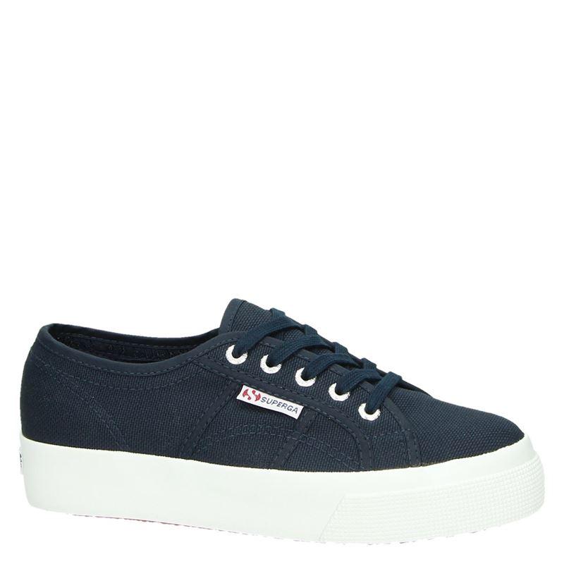 Superga - Lage sneakers - Blauw