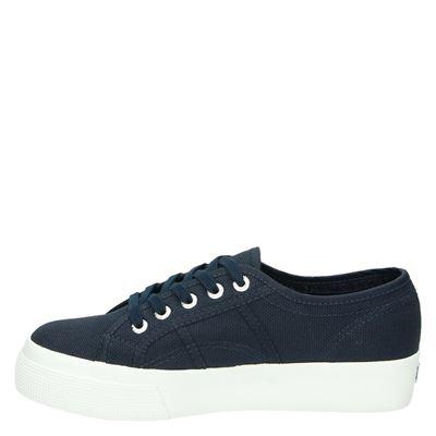 Superga dames lage sneakers Blauw