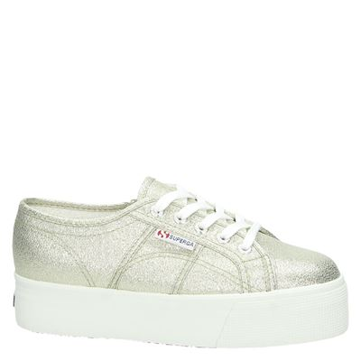 Superga dames lage sneakers Goud