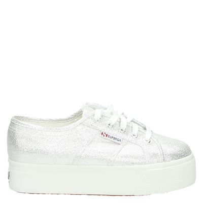 Superga dames sneakers zilver