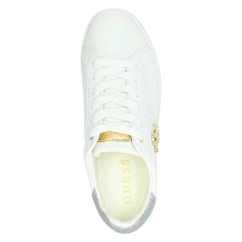 Guess FLBYS1 - Lage sneakers - Wit