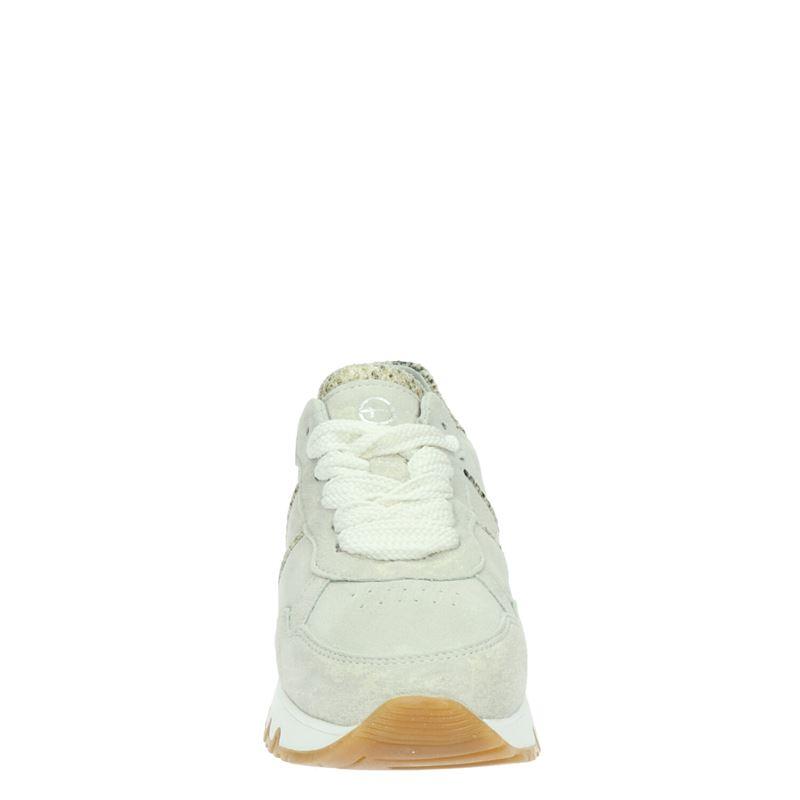 Tamaris - Lage sneakers - Ecru