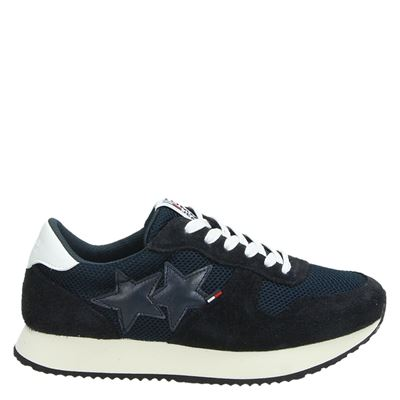 Tommy Jeans dames sneakers blauw