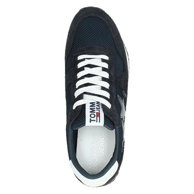 Tommy Jeans dames lage sneakers Blauw
