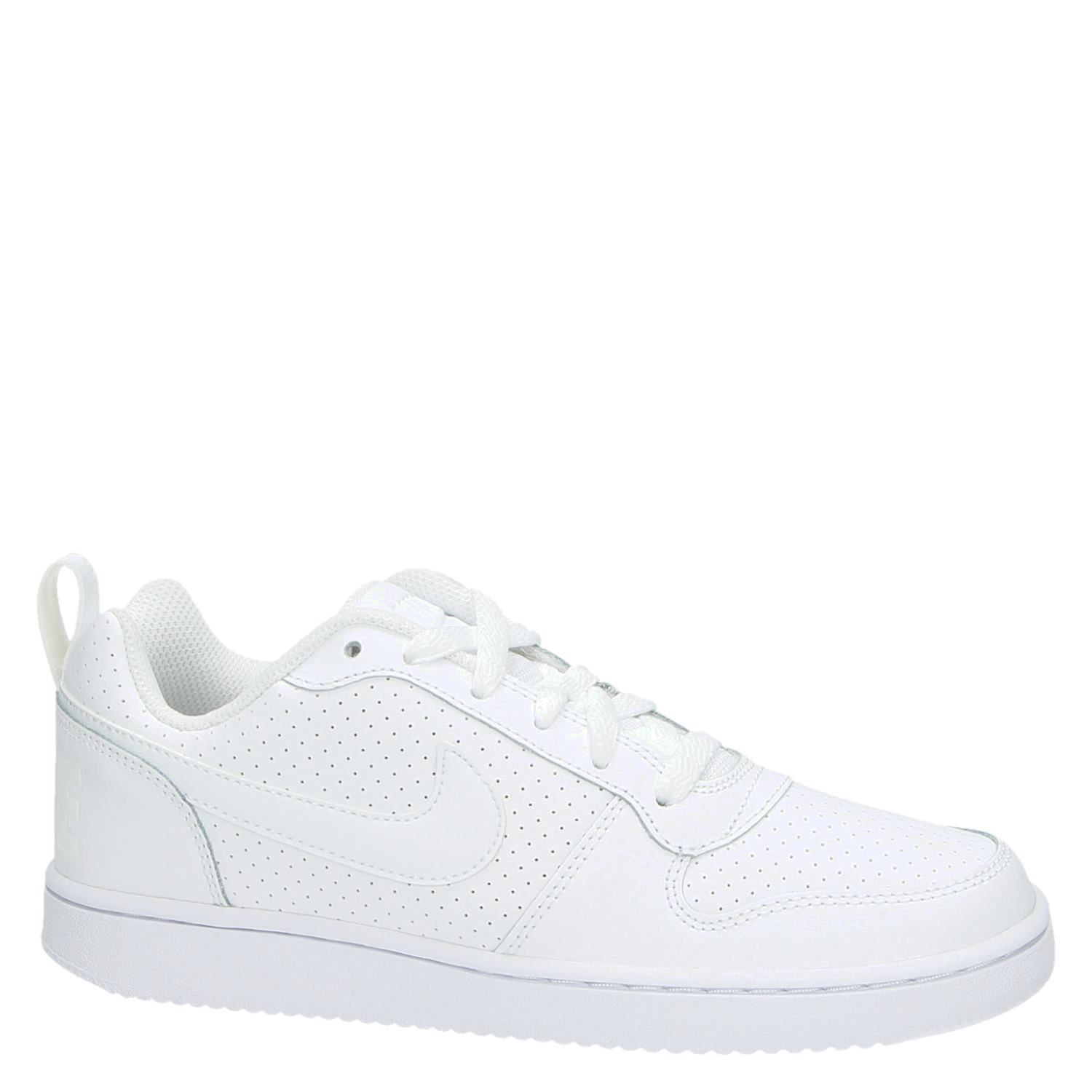 Nike Court Borough Low dames lage sneakers wit