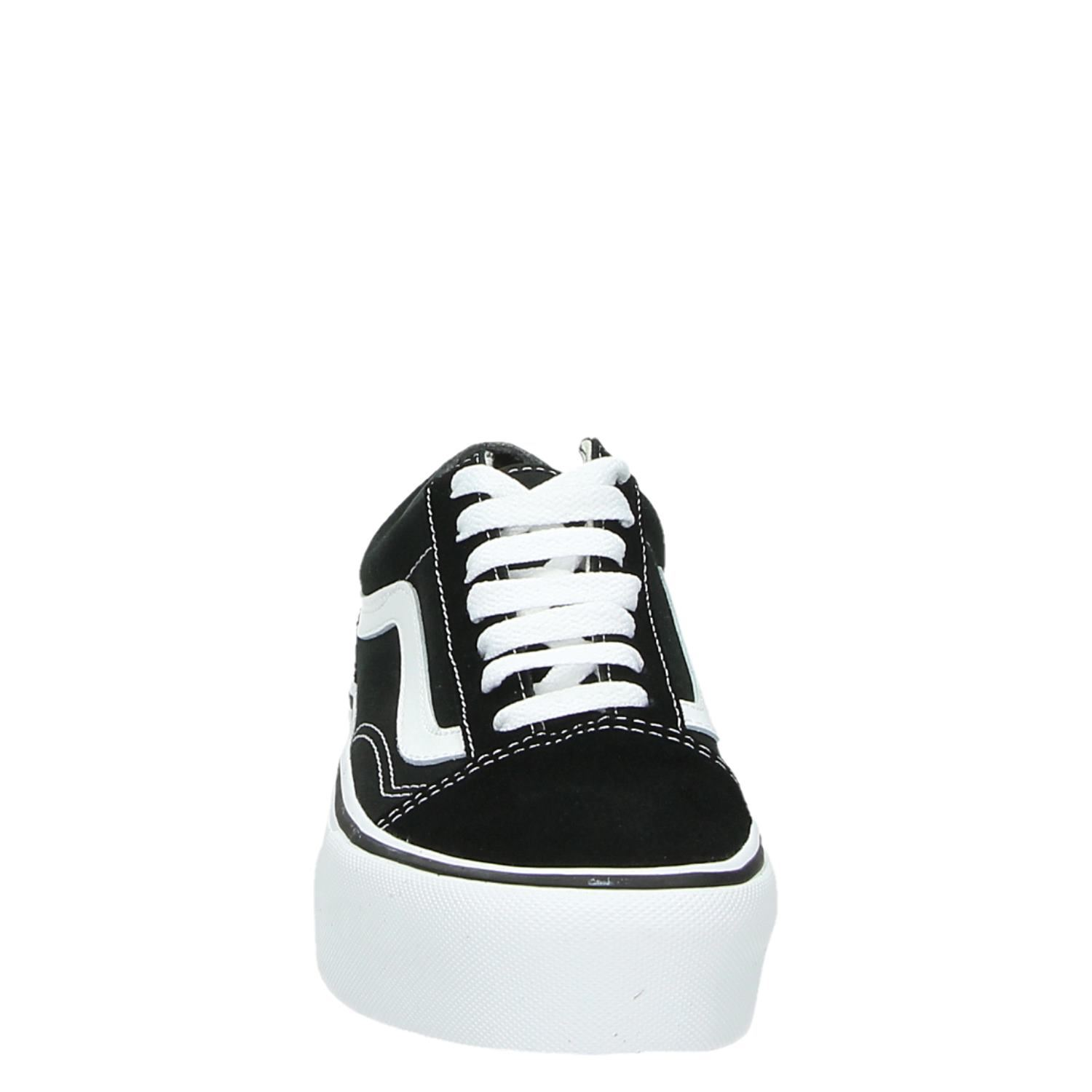 vans old skool dames zwart sale