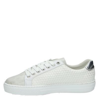 Rieker dames lage sneakers Wit