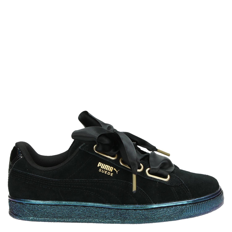 Chaussures En Daim Noir Puma evP6GjFR