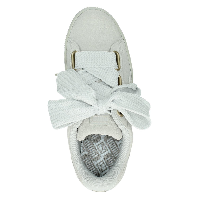 565e37e4204 Puma Suede Heart Satin dames lage sneakers. Previous