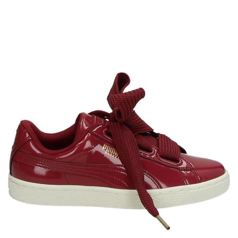 Puma Basket damessneaker rood