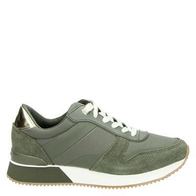 Tommy Hilfiger Sport dames sneakers groen