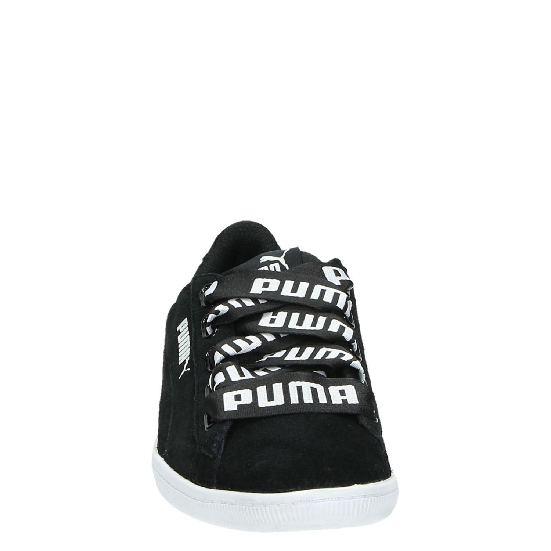 Puma Chaussures De Sport Lage De Ruban De Multiples Vikky WdkDwn9