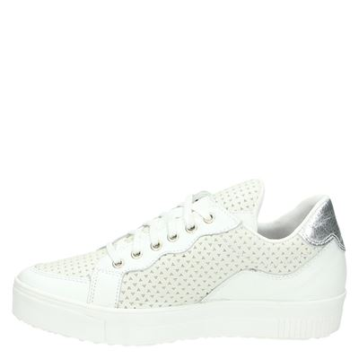 PS Poelman dames lage sneakers Wit